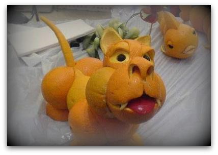 Naranja sabores de bolivia - Cuchillos para decorar fruta ...