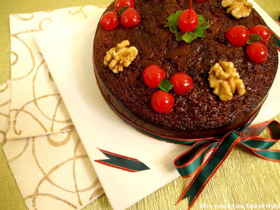 Traditional Christmas Fruit Cake Recipe Kraft Paper