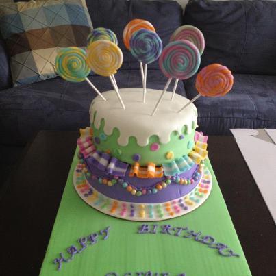 Decoración de Torta Infantil