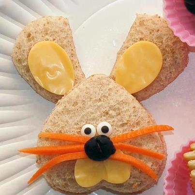Decoración Torta Infantil Conejo