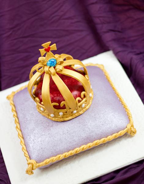 Decoración de Torta para Un Rey
