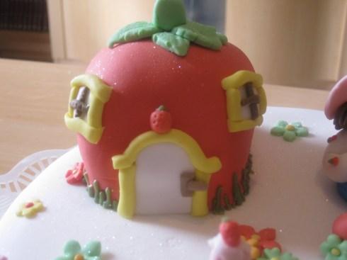 Decoracion de Torta de Fresita