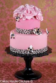 Decoración de Torta Rosada