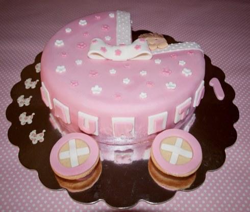 Decoracion de Torta de Baby Shower