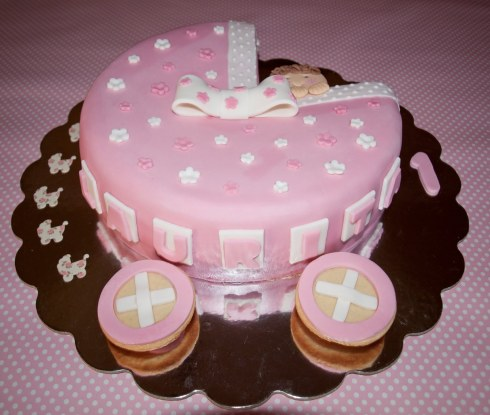 Decoracion de Torta de Baby Shower