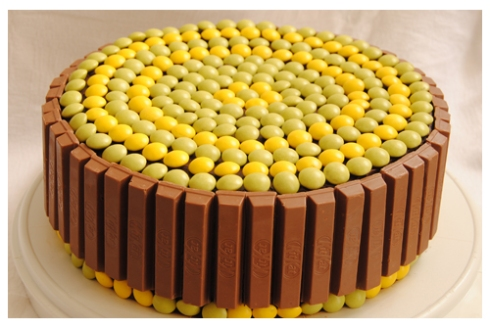 Decoración de Torta con Chocolate