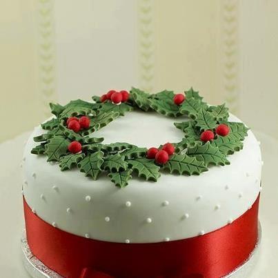 Decoración de Torta de Navidad