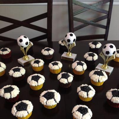 Decoración de Tortitas Pelota de Futbol | Sabores de Bolivia