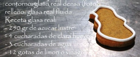 RECETA GLASA REAL