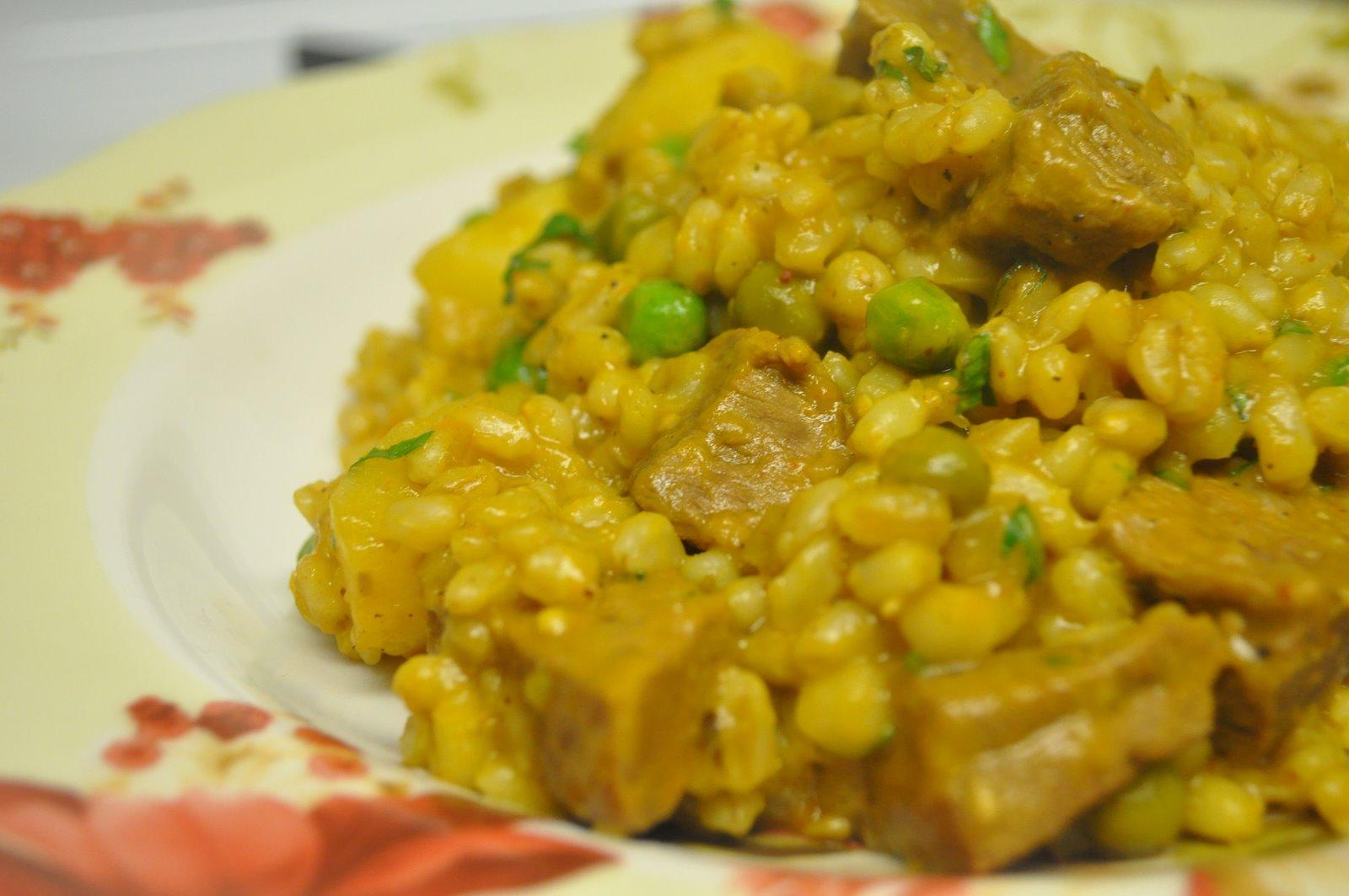 Tutorial de aj de trigo sabores de bolivia for Cocinar trigo