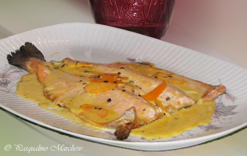 Trucha con salsa de naranja a la parrilla sabores de bolivia - Como cocinar la trucha ...