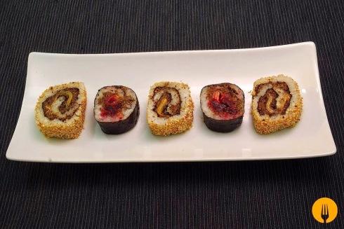 receta Sushi casero maki uramaki coicna japonesa